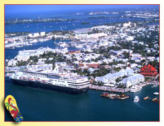 Aerial view of Key West; photo by Rob O'Neal