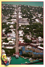 Aerial View of Key West's Duval Street ... Photo by Rob O'Neal