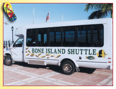 Bone Island Shuttle ... Photo by Rob O'Neal